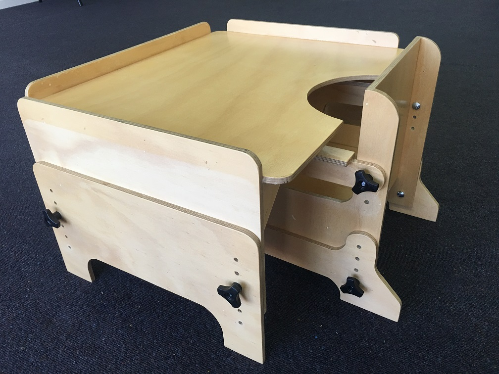 Adjustable Chair and Table for child with disability
